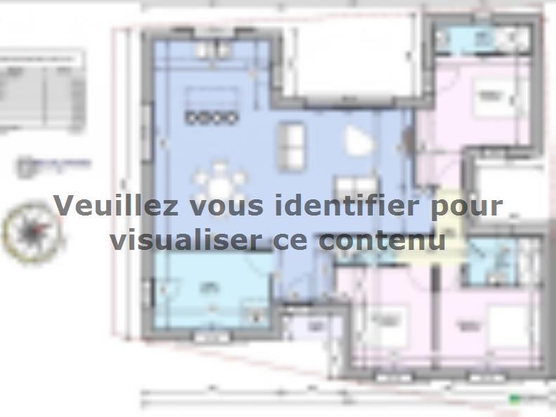 Modèle de maison Maison 110m2 - 3CH - (PP AN 122911016) : Vignette 4