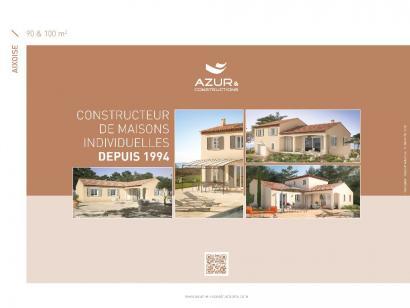 Plan de maison Aixoise 90m² contemporaine 3 chambres  : Photo 2