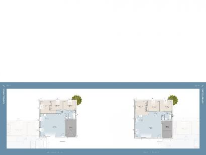 Plan de maison CASTELLANAISE 88 contemporaine 3 chambres  : Photo 1