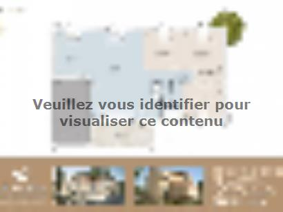 Plan de maison Diana contemporaine 3 chambres  : Photo 1