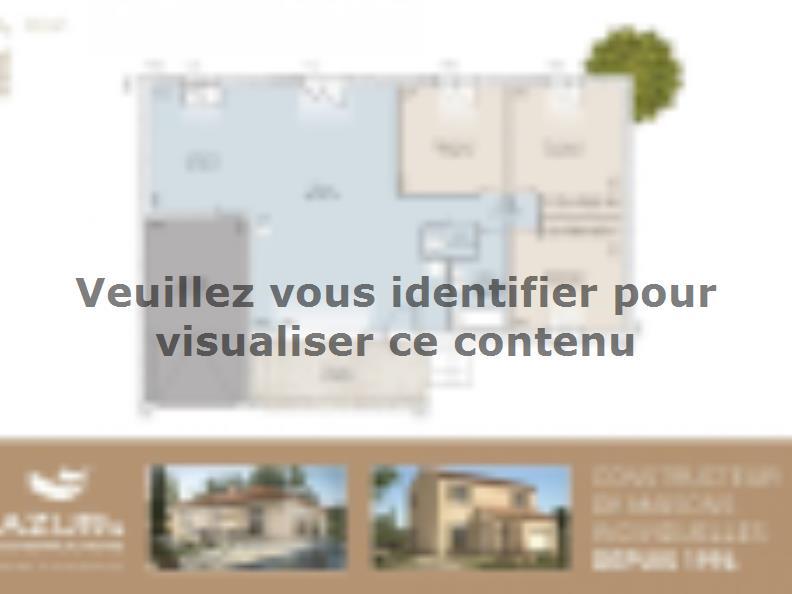 Plan de maison Diana contemporaine : Vignette 1