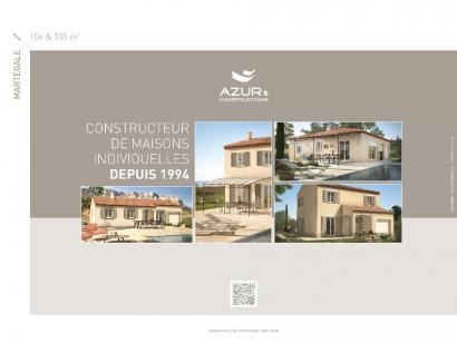 Plan de maison Martegale contemporaine 4 chambres  : Photo 2