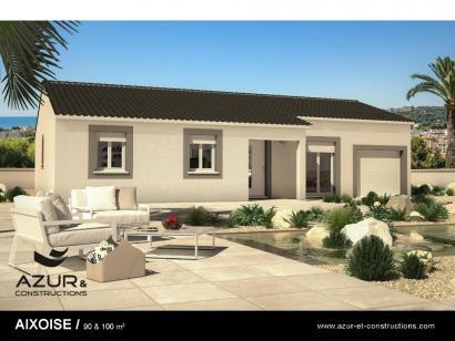 Modèle de maison Aixoise 90m² contemporaine 3 chambres  : Photo 1