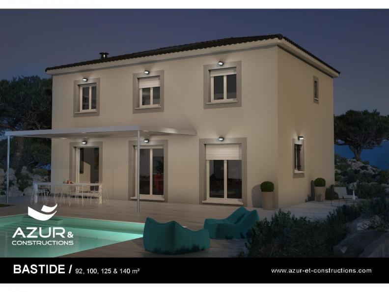 Modèle de maison Bastide 125 contemporaine : Vignette 1