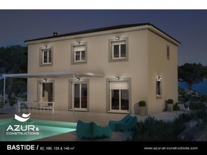 Modèle de maison Bastide 140 contemporaine 3 chambres  : Photo 1