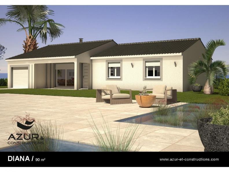Modèle de maison Diana contemporaine : Vignette 1