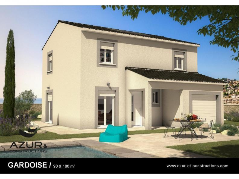 Modèle de maison Gardoise 100 contemporaine : Vignette 1