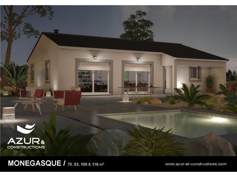 Modèle de maison Monegasque 105 CONTEMPORAINE : Vignette 1