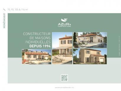Plan de maison Monegasque 93 CONTEMPORAINE 3 chambres  : Photo 2
