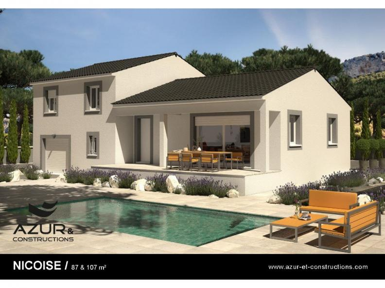 Modèle de maison Nicoise 107 CONTEMPORAINE : Vignette 1