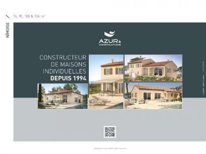 Plan de maison Nimoise 76 CONTEMPORAINE 2 chambres  : Photo 2