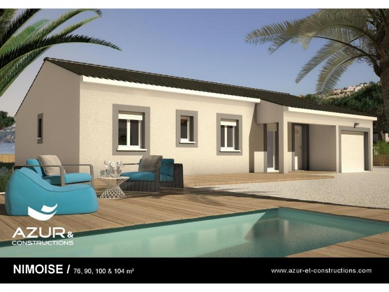 Modèle de maison Nimoise 76 CONTEMPORAINE : Vignette 1