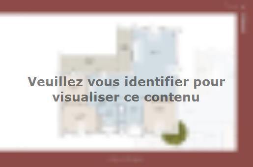 Plan de maison Romaine 104 CONTEMPORAINE : Vignette 1