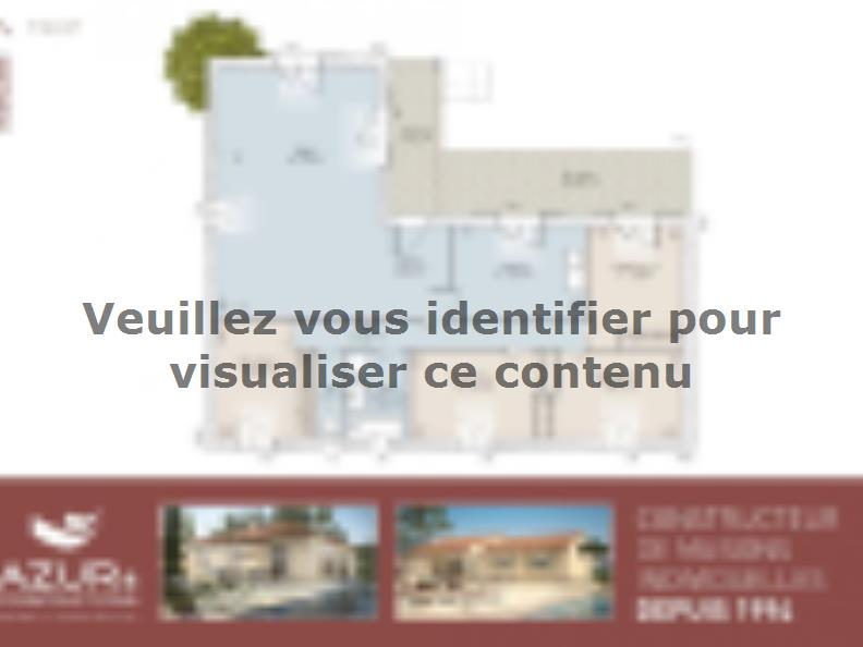 Plan de maison Romaine 104 CONTEMPORAINE : Vignette 2