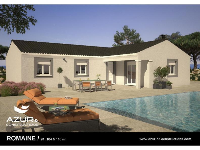 Modèle de maison Romaine 104 CONTEMPORAINE : Vignette 1