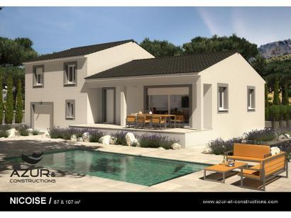 Modèle de maison Nimoise 100 4 chambres  : Photo 2
