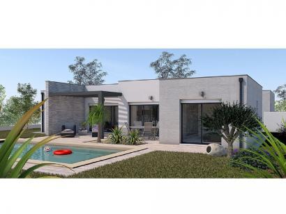 Modèle de maison Maison 123m2 - 3CH - Garage - (PP AN 160116116) 3 chambres  : Photo 1