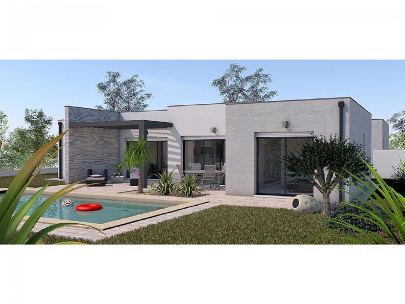 Modèle de maison Maison 123m2 - 3CH - Garage - (PP AN 160116116) : Vignette 1