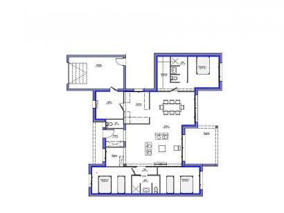 Modèle de maison Maison 123m2 - 3CH - Garage - (PP AN 160116116) 3 chambres  : Photo 2
