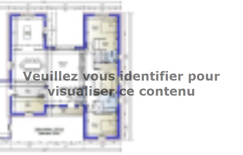 Plan de maison Maison 139m2 - 3CH - Garage - (PP AN 190812216) : Vignette 1