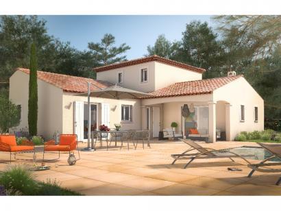 Modèle de maison Martegale 130 4 chambres  : Photo 1