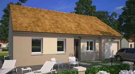 Plan de maison Family 75G par Maisons France Confort