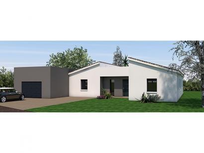 Modèle de maison Maison 139m2 - 3CH - Garage - (PP AN 190812216) 3 chambres  : Photo 2