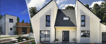 La maison contemporaine : économique, confortable et design