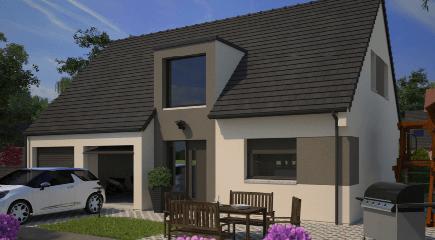 Plan de maison contemporaine Horison par Maisons France Confort