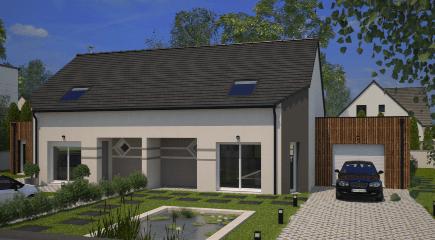 Lumina un modèle de plan de maison 4 chambres par Maisons France Confort