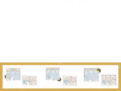 Plan de maison Bastide 100 contemporaine 3 chambres  : Photo 1