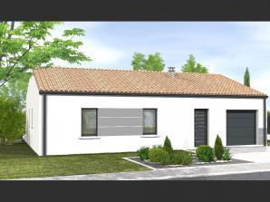 Avant-projet MAREUIL SUR LAY - 65 m² - 2 chambres