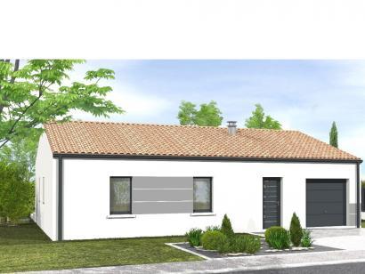 Modèle de maison Avant-projet MAREUIL SUR LAY - 65 m² - 2 chambres 2 chambres  : Photo 1