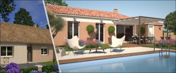 Une maison de plain-pied de 3 chambres : attractive par nature