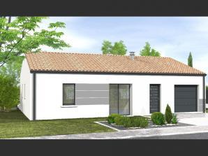 Avant-projet L'HERMENAULT - 70 m² - 2 chambres