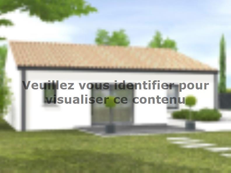 Modèle de maison Avant-projet L'HERMENAULT - 70 m² - 2 chambres : Vignette 2