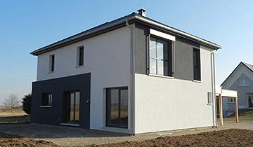 Nos réalisations de maisons 4 pans