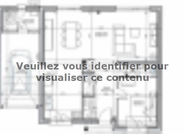 Plan de maison ETG_TT_GA_120m2_5ch_P15387 : Vignette 1