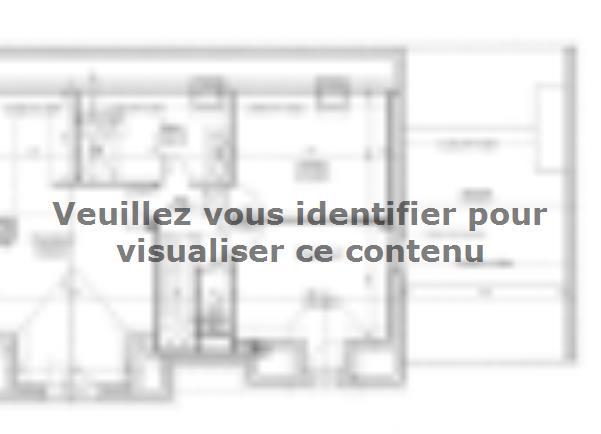 Plan de maison ETG_R_GA_136m2_4ch_P4423 : Vignette 3
