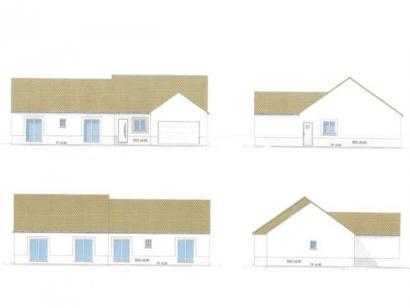 Plan de maison PLP_L_GI_137m2_4ch_P4471 4 chambres  : Photo 1