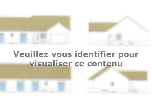 Plan de maison PLP_L_GI_137m2_4ch_P4471 : Vignette 1