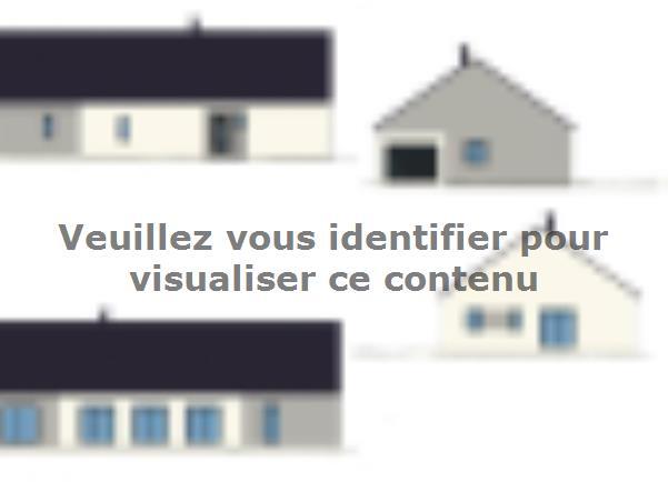 Plan de maison PLP_L_GI_150m2_3ch_P8242 : Vignette 1