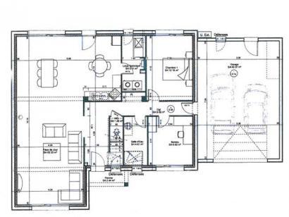 Plan de maison ETG_L_GA_182m2_6ch_P14298 6 chambres  : Photo 2
