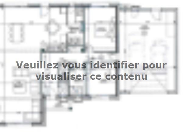Plan de maison ETG_L_GA_182m2_6ch_P14298 : Vignette 2