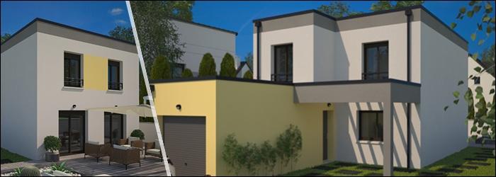 City, un modèle MFC au toit plat