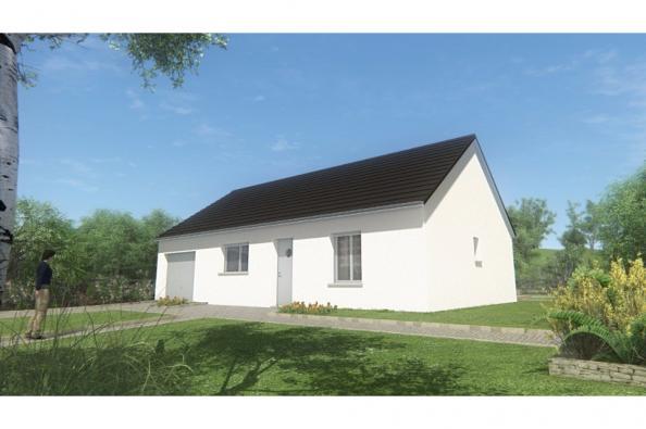 Modèle de maison MAISON DE PLAIN PIED - 66 A 76 M2 - CORREZE ET CRE 2 chambres  : Photo 1