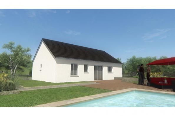 Modèle de maison MAISON DE PLAIN PIED - 66 A 76 M2 - CORREZE ET CRE 2 chambres  : Photo 2