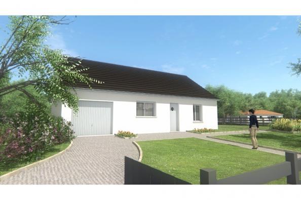 Modèle de maison MAISON DE PLAIN PIED - 66 A 76 M2 - CORREZE ET CRE 2 chambres  : Photo 3