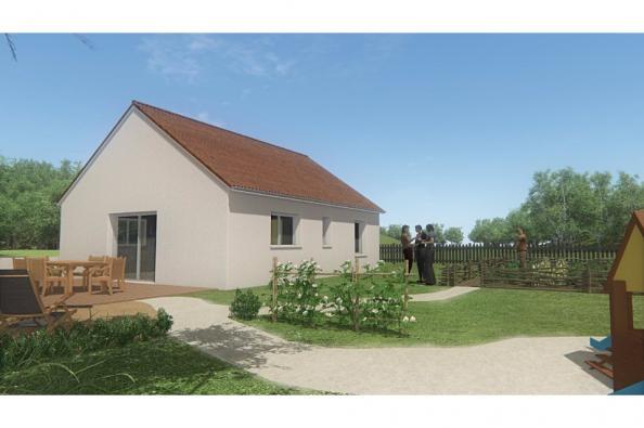 Modèle de maison MAISON DE PLAIN PIED- 66 A 76 M2 - CREUSE - ACACIA 2 chambres  : Photo 2