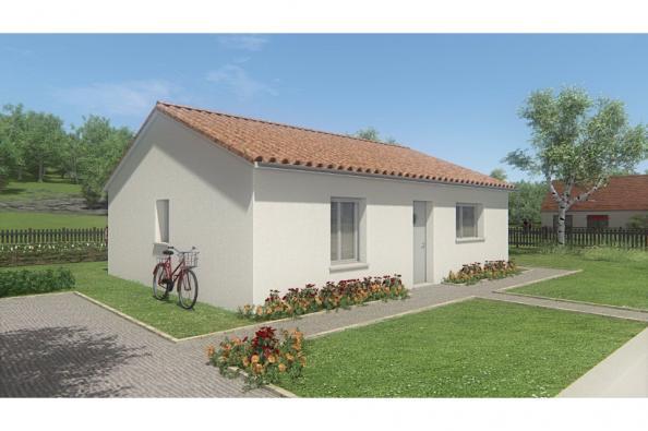 Modèle de maison MAISON DE PLAIN PIED - 66 A 76 M2 - HAUTE-VIENNE - 2 chambres  : Photo 1